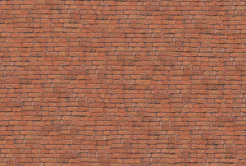 Trompel-œil matière mur de briques