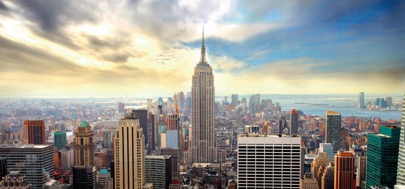 Vue panoramique sur New York