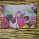 Déco jardin : tableau floral de Sophie