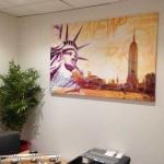 New York dans des bureaux