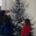Déco de Noël en famille