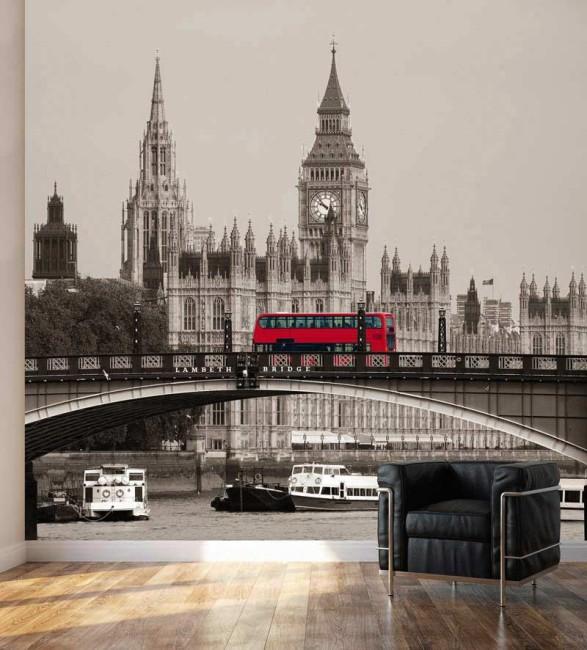 Poster déco style Londres