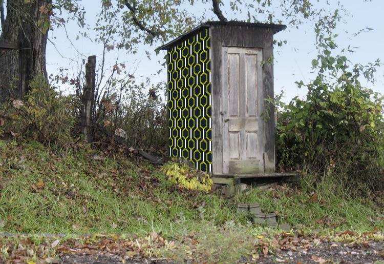 Décoration des toilettes