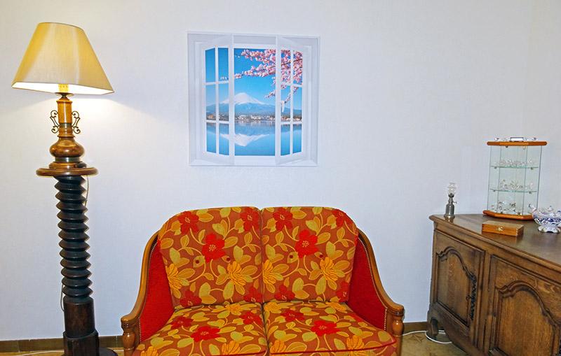 Photo tableau fausse fenêtre
