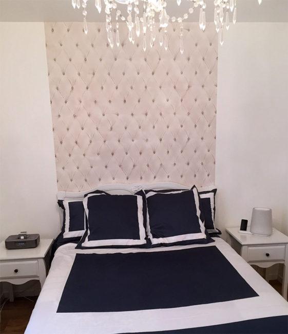Tête de lit capiton