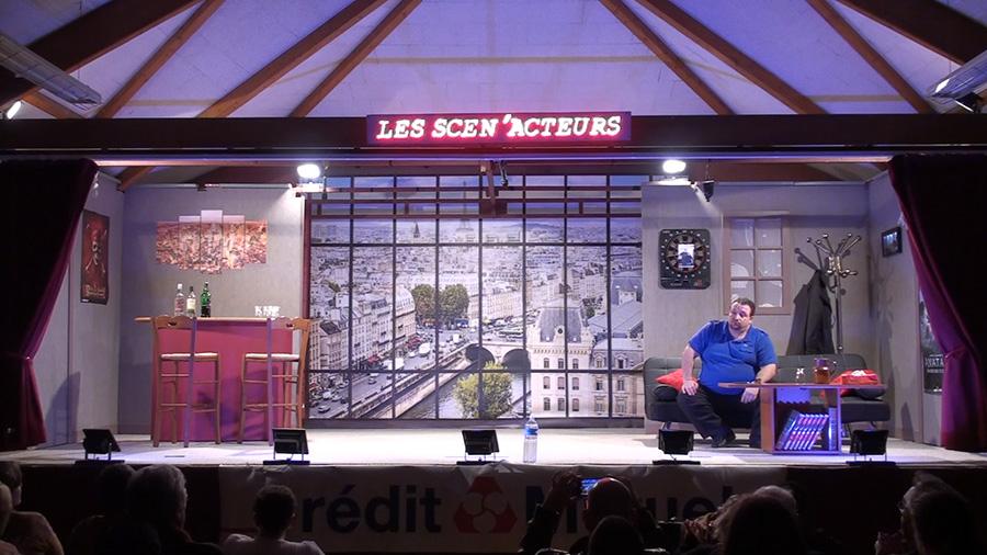 Paris sur la sène