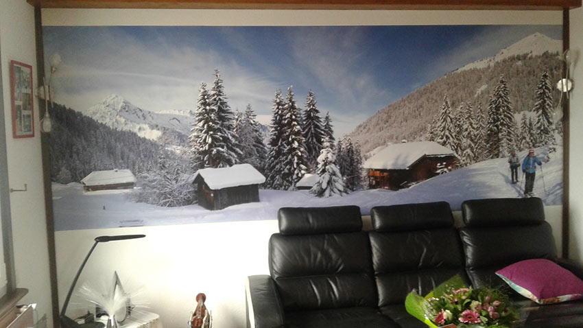 Photo décor montagne