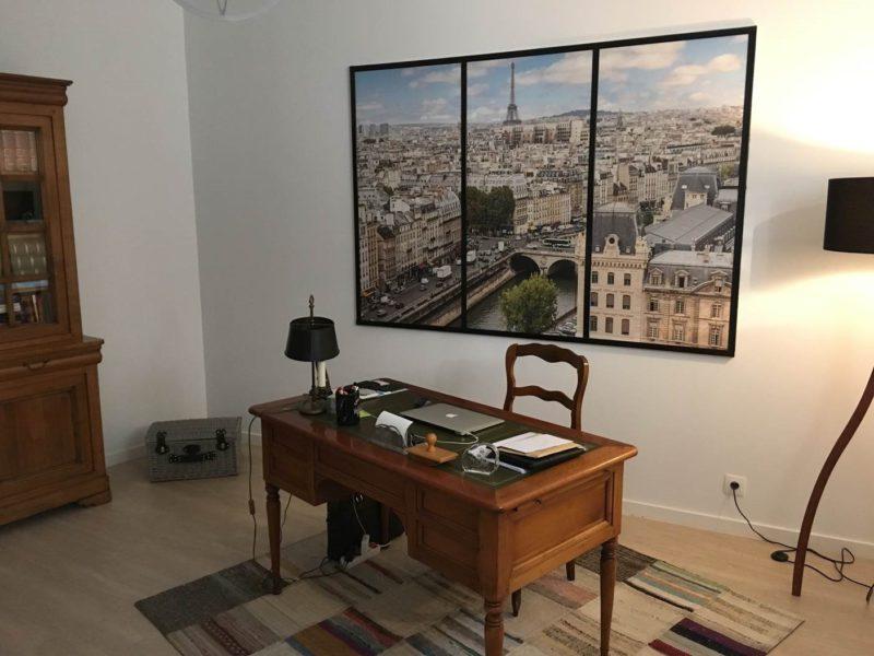 Tableau trompe l'oeil Paris