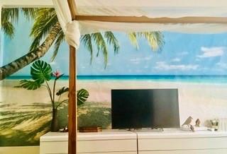 Papier peint panoramique exotique