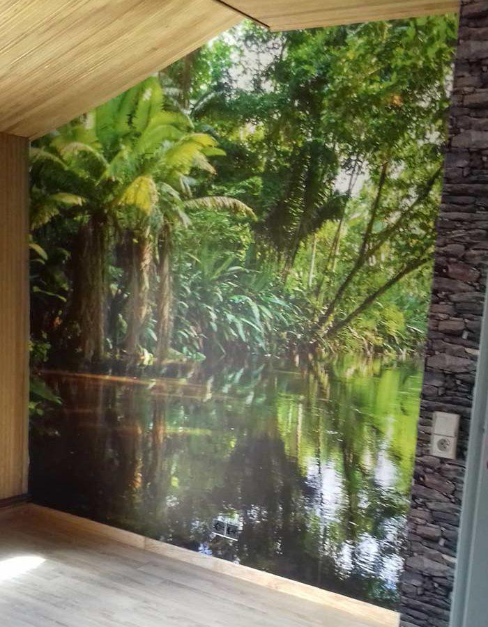 déco forêt tropicale