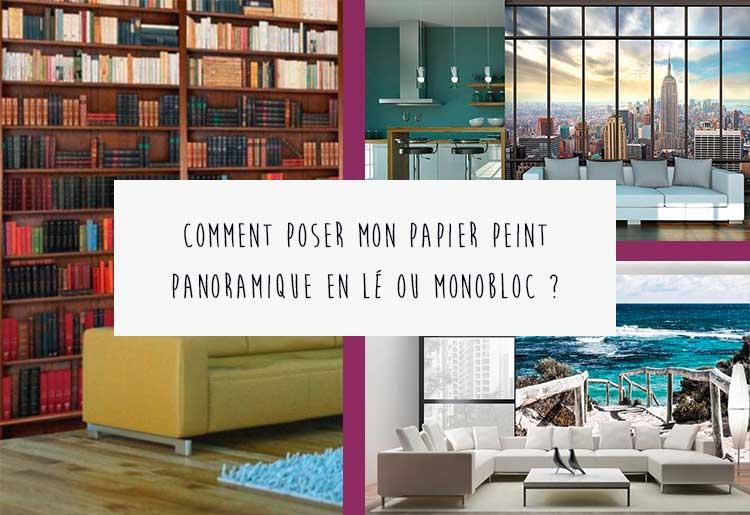 poser un papier peint panoramique