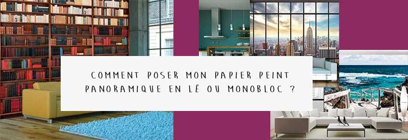 Comment poser un papier peint panoramique ?