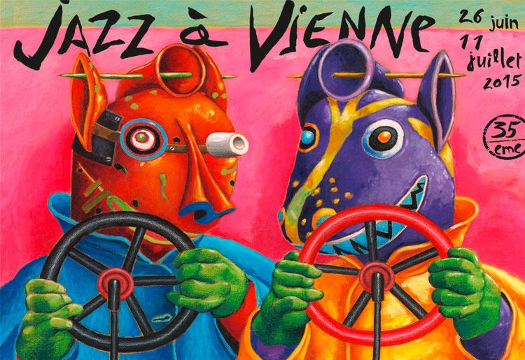 Jazz à Vienne 2015 !