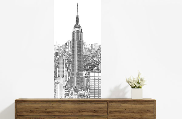 Croquis Empire state buildings