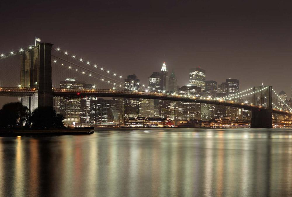 Pont de Brooklyn en déco panoramique