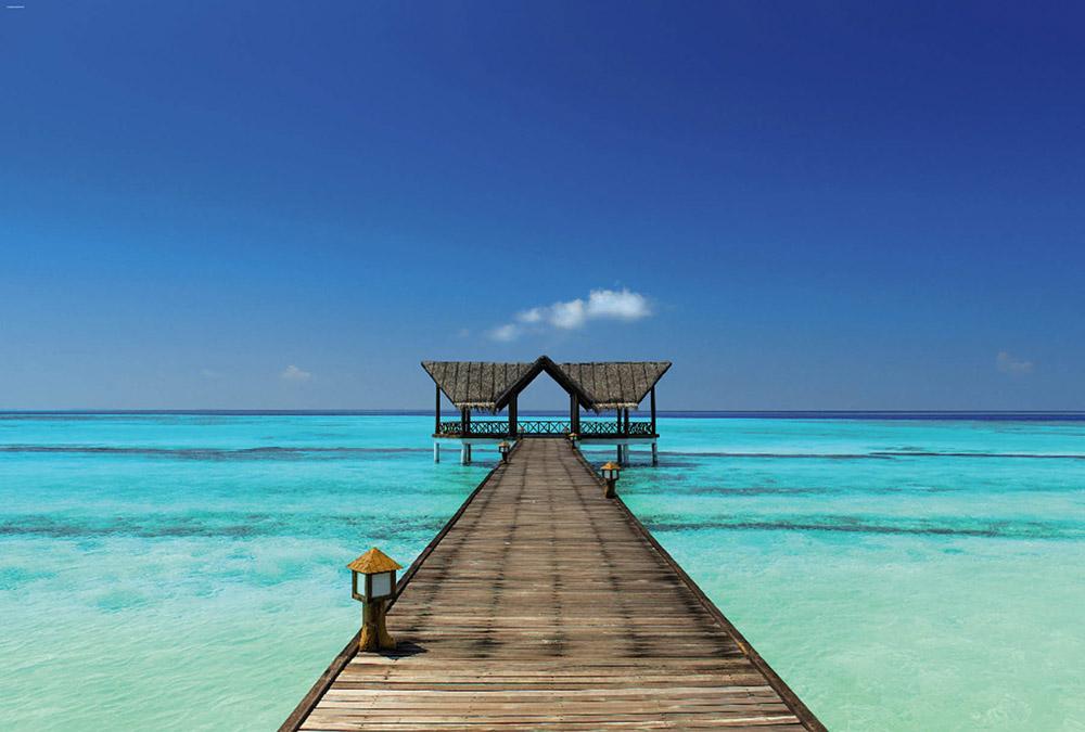 Décor paradisiaque Bora Bora