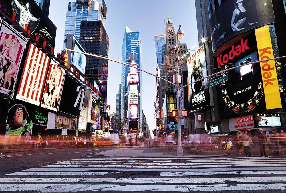 Décor géant Time Square