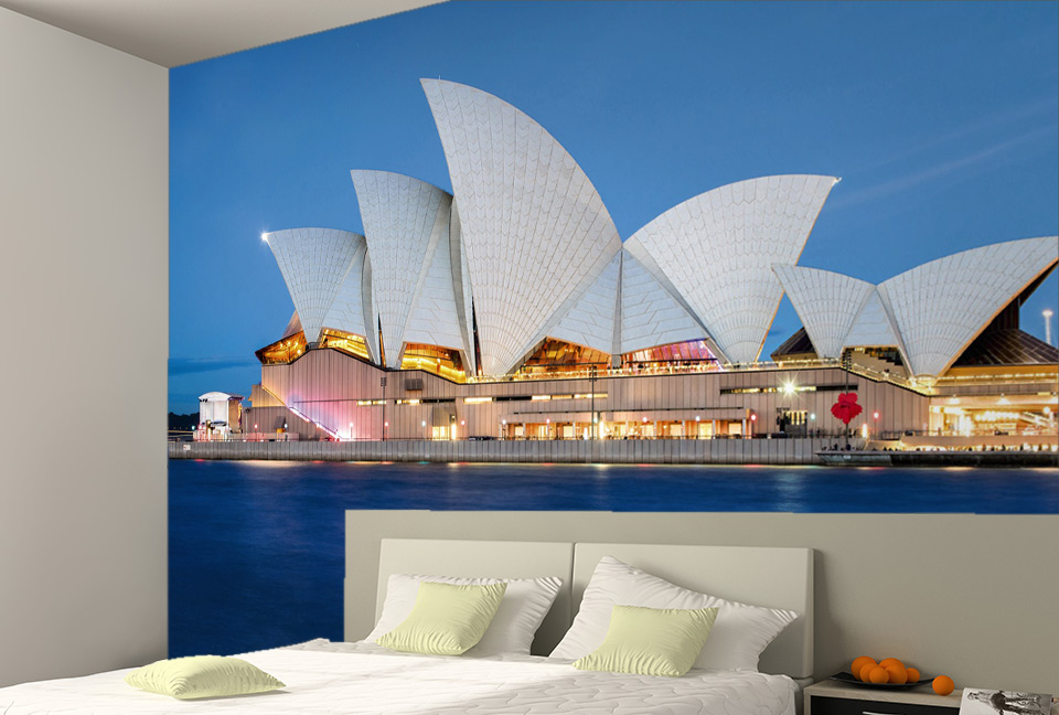 L'architecture de l'opéra de Sydney