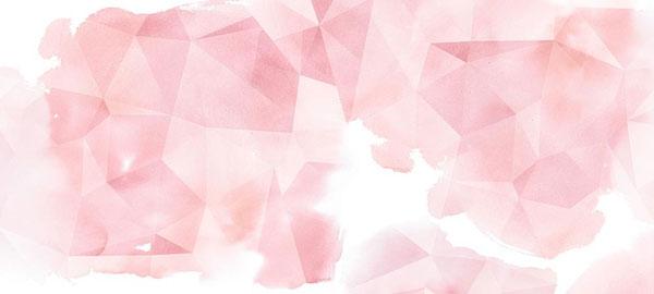 Forme rose et papier peint