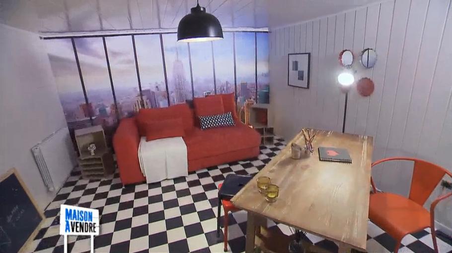 Décor panoramique Head office dans maison à vendre