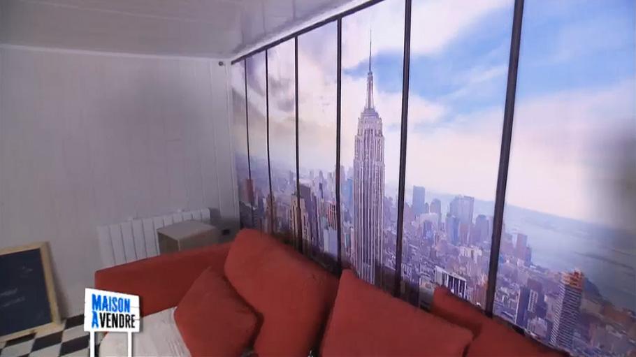 Poster New York dans une chambre d'ado