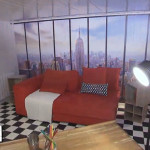 Rediffusion TV : Poster New York dans Maison à Vendre