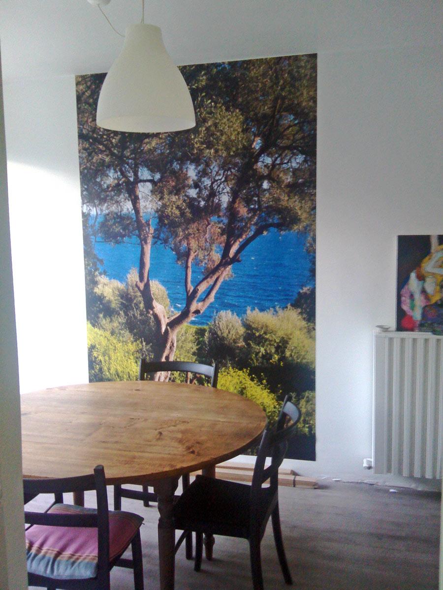 Poster nature Corse