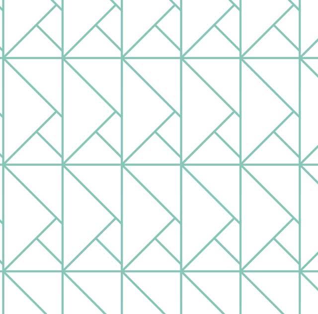 papier peint origami bleu