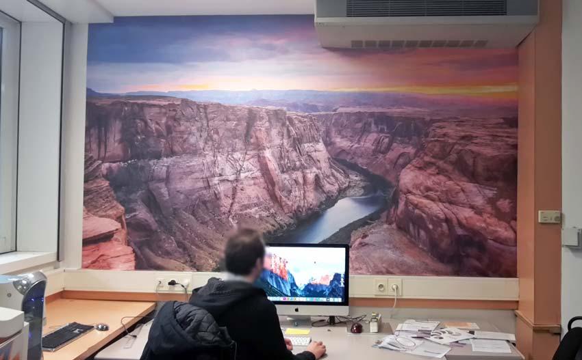 Décoration de bureau Grand Canyon