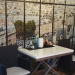 Papier peint dans la cuisine de Véronica