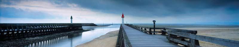 Deauville marée basse
