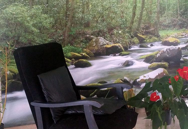 d coration for t tropicale chez carole avec un poster et. Black Bedroom Furniture Sets. Home Design Ideas