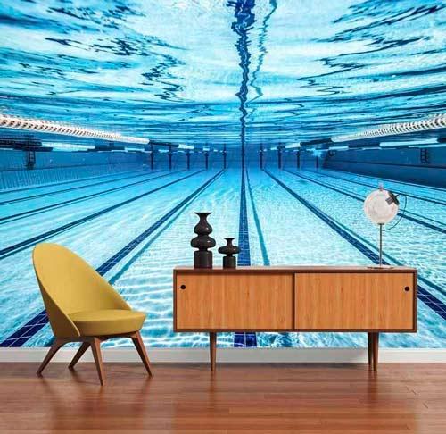 La piscine dans le salon !