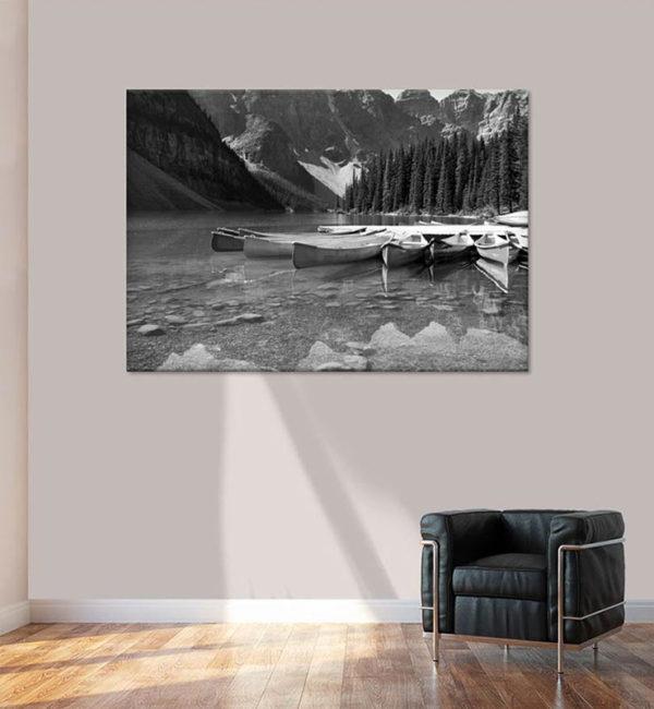 Photo du Canada noir et blanc