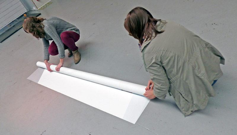 mandrin à papier peint