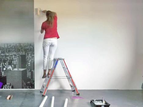 Papier peint rapide à poser
