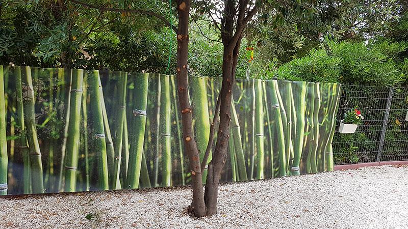 Brise vue bambous zen