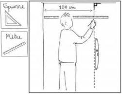 mesure pour papier peint
