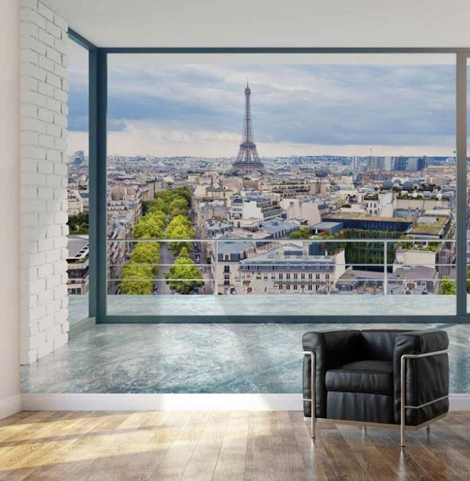 poster grand format de paris