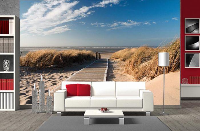 poster océan et sable