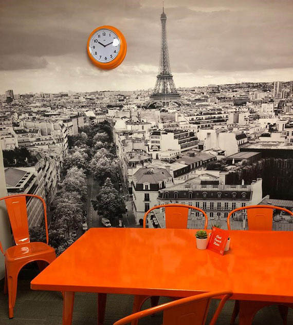 Papier peint Paris