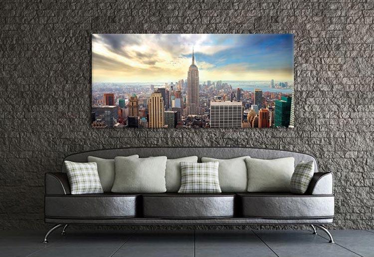 Couverture Tableau Deco vue de New York