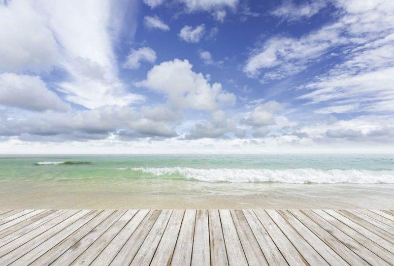 Papier peint panoramique paysage En mer