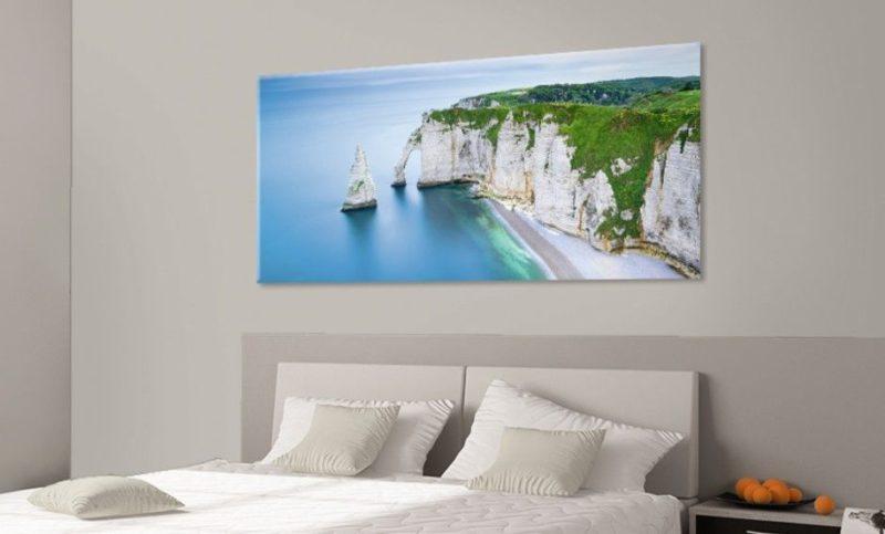 tableau mural paysage falaise