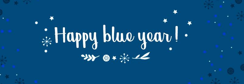 Couleur Pantone 2020 : Happy Blue Year !
