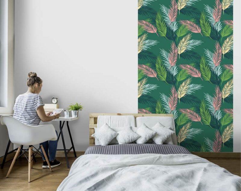 DIY-déco-chambre-papier-peint-heart-of-palm
